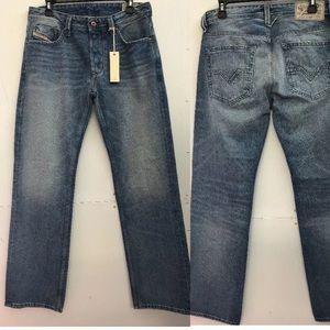 Diesel Men's Larkee ORZ49 Straight Jeans Size 30